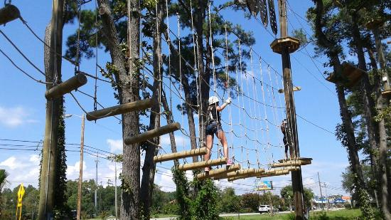 Radical Ropes Course Myrtle Beach