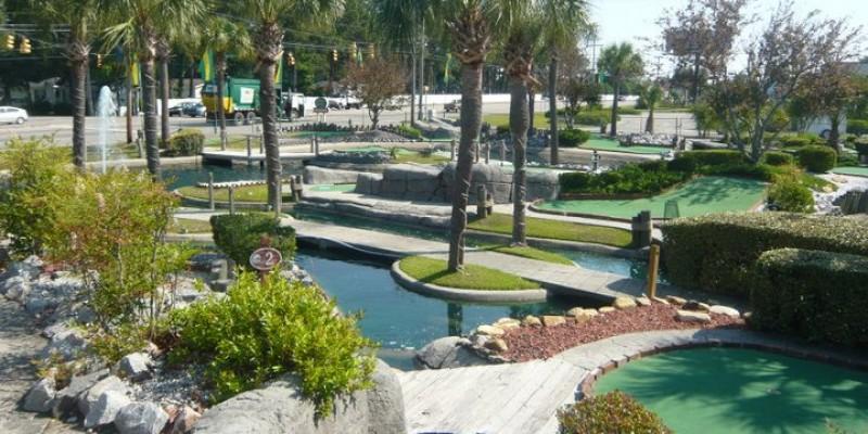 Garden City Outdoor Minuature Golf