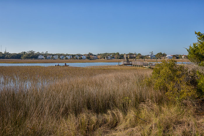 pawleys island inlet view