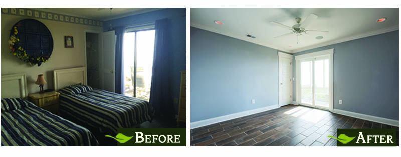 Beachfront Condo Renovations : Project detail before after on a recent remodel