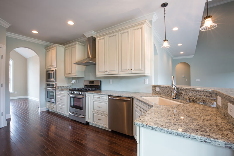 custom home builder kitchen