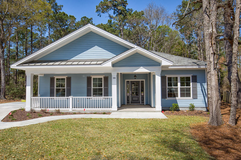 pawleys plantation custom home exterior