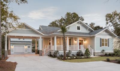 CRG real estate home custom landscaping