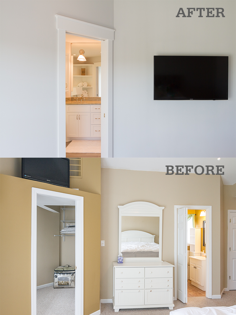surfside beach remodel bedroom before after